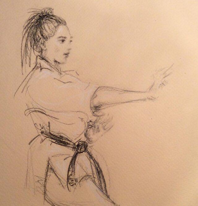 Memoirs Of A Martial Artist Beginner Karen Kelly Animator